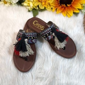 "Circus by Sam Edelman ""Brice"" Flat Sandals 6.5"
